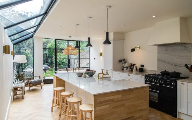 Side Return Kitchen Extension Chiswick