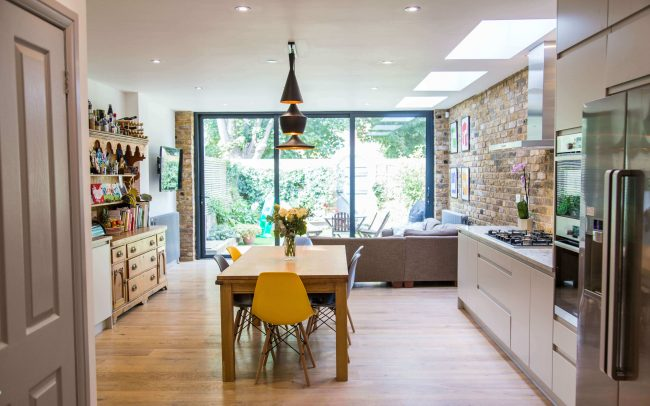 Ground Floor Kitchen Extension Chiswick